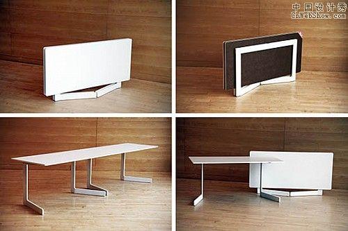 折叠家具都有着巧妙的设计