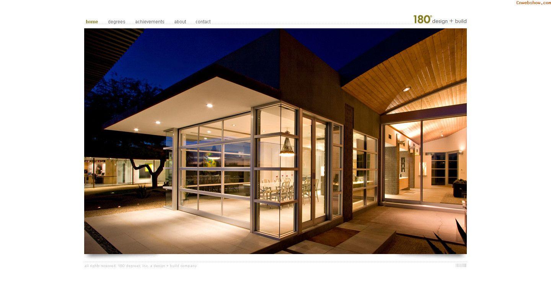 欧美180degreesinc房屋建筑师网站设计欣赏