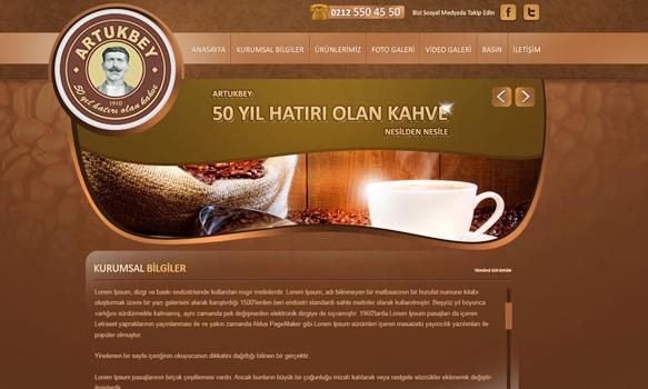 多风格企业网站设计欣赏
