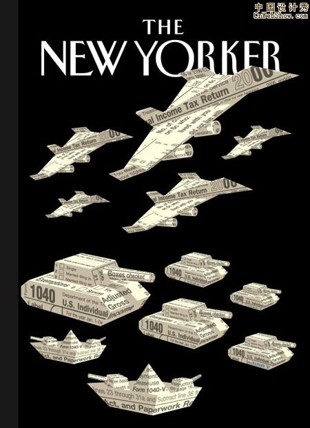 美国设计师christoph niemann封面设计欣赏